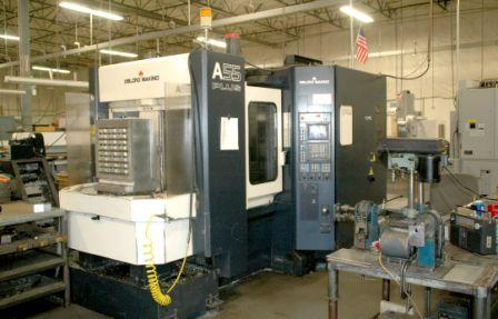 LEBLOND MAKINO A55 PLUS - Precision Machining