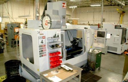 HAAS (2007) VF4SS 24 - Precision Machining